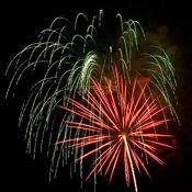 Cityscape Fireworks