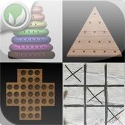 Recess Games - tic tac toe, Hanoi, Stifte, Spiele und Cross