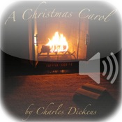 Christmas Carol at the Fireplace
