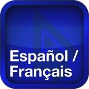 Spanisch-Französisch Wörterbuch-Sprachführer-Kombination von Accio