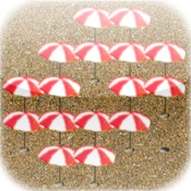 a Red Beach Umbrella Peg !