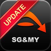 Mobile Maps 3D Singapur & Malaysia GPS Navigation