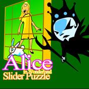 Alice in Wonderland - Sliding Puzzle Game