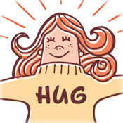 Hug the World on Facebook