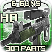 Gun Disassembly 3D HD