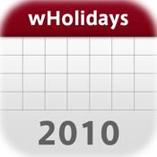 World Holidays Calendar 2010