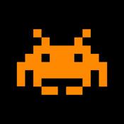 Space Invaders Battery Meter