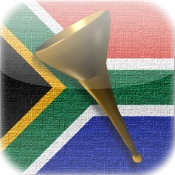 Afrikanischen Vuvuzela & Rattle