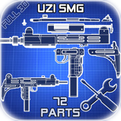 Uzi Disassembly 3D