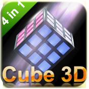 Cube 3d puzzle 4 in 1