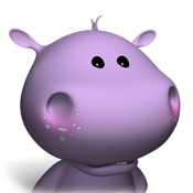 Sprechendes Baby Hippo - Talking Baby Hippo