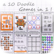 a 10 Doodle Games in 1 !