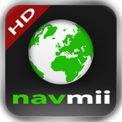 Navmii GPS Belgien und Luxemburg HD