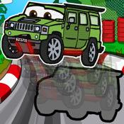 Cars & Tiere Puzzle *KIDS LOVE* für Kleinkinder & Vorschule