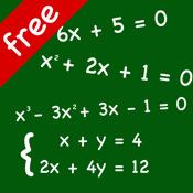 FREE Equation Genius - Math equation solver
