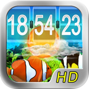 Aquarium Clock Pro HD