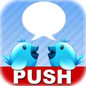a Push twitter(customize twitter push)