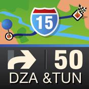 Mobile Maps Algeria & Tunisia GPS Navigation