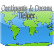 Continents & Oceans Helper