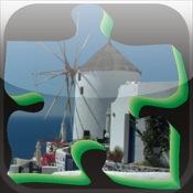 Puzzle Santorin