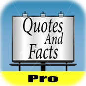 Quotes + Facts Pro