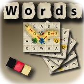 Words Game - Deutsch (The rotating word puzzle game)