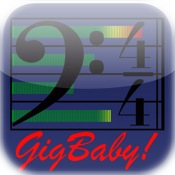 GigBaby! four track recorder, metronome, drum machine