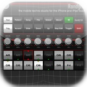 Randgrid synthesizer and drum machine