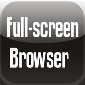 Full-screen Web
