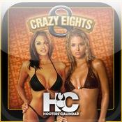 Hooters® Calendar Girls Crazy Eights Lite