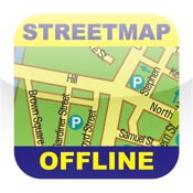 Moscow (Russia) Offline Streetmap