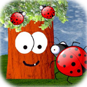 A Ladybug Tree - Kids Bug Catching & Counting Game