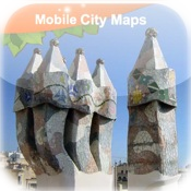 Barcelona Street Map