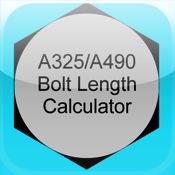 A325/A490 Structural Bolt Length Calculator