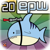 Epic Pet Wars Lazer Shark + 20 Respect Points