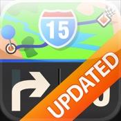 Mobile Maps Nordamerika GPS Navigation
