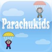 Cartoon Parachuters