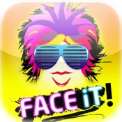 FACE iT! Add funny stuff to photos!