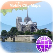 Paris Street Map Lite