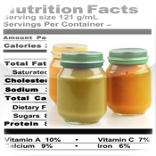 Baby Foods Nutrition Facts