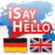 iSayHello Deutsch - Englisch