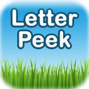 Letter Peek - ABC Flashcard Toddler Game