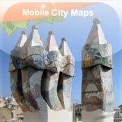 Barcelona Street Map Lite