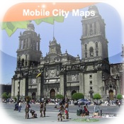 Mexico City Street Map Lite