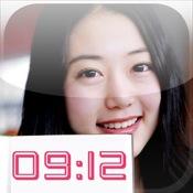 GirlsWatch_korean beauty clock