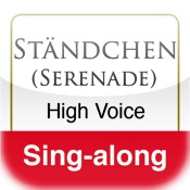 Ständchen, Schubert (High Voice & Piano - Sing-Along)