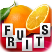 My first french words: Fruits