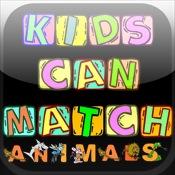 Kids Can Match Animals