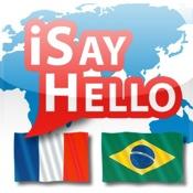 iSayHello Französisch - Portugiesisch (Brasilien)