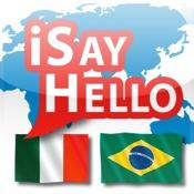 iSayHello Italienisch - Portugiesisch (Brasilien)